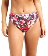 Swim Systems Hothouse Blooms Basic High Waist Bottom