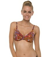 Swim Systems Bali Batik Underwire Push Up Top