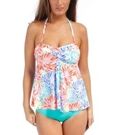 Penbrooke Runway Bandeau Fly Away Tankini Top