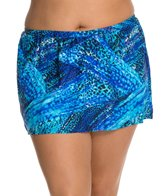 Delta Burke Plus Size Tigress Skirted Bottom