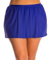 Delta Burke Plus Size Core Solid Skirted Bottom