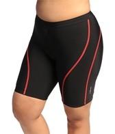 Shebeest Women's Plus Size Racegear Tri Shorts