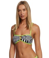 Adidas Women's Cut Stripe Bandeau Top