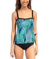 Maxine Make a Splash Bandeau Faux Tankini