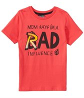 Volcom Boys' Rad Influence S/S Tee (4-7)
