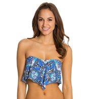 Kenneth Cole Mediterranean Escape Flounce Top