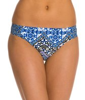 Kenneth Cole Mediterranean Escape Side Rouched Pant Bikini Bottom