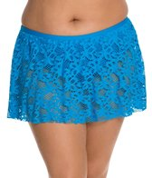 Kenneth Cole Island Fever Plus Size Flounce Skirted Bottom