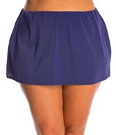 South Point Plus Size Solid High Tide Skirted Bottom