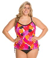 South Point Vida Tropic Plus Size Main Sail Tankini Top