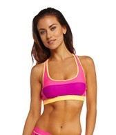 Reebok Fitness Angie Colorblock Sports Top