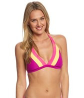 Reebok Fitness Jenny Colorblock Halter Top