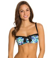 Beach House Clearwater Floral Underwire Bra Top