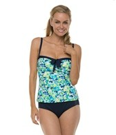 Beach House Clearwater Floral Underwire Shirred Tankini Top