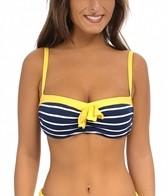 Beach House Skipper Stripe Underwire Bra Top
