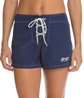 Girls4Sport Snag-Free Short Solid Boardshort
