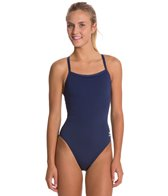 Speedo Solid Endurance + Flyback Training Swimsuit