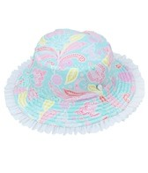 Sun Emporium Girls' Bucket Hat (6mos-8yrs)