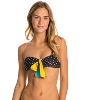 Volcom Reality Bites Dot Bandeau Top
