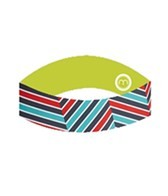 Moxie Cycling Women's Printed Reversible Headband