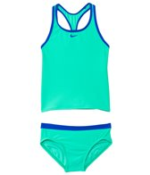 Nike Girls' Core Solids Racerback Tankini and Brief Set (7-14)