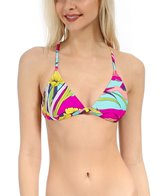 Roxy Island Dreams Criss Cross Surfer Sports Top