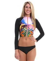 Seafolly Oasis Cropped Rash Vest