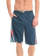 Nike Swim Lucid Stripe Splice 11 Volley Short