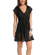 Profile by Gottex Basics Hooded Crochet Dress