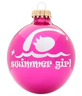 Bay Six Swimmer Girl Ornament