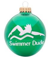 Bay Six Swimmer Dude Ornament