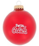 Bay Six Swim Coach Ornament