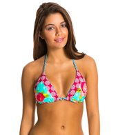 Body Glove Violets Are Blue Simply Fun Reversible Triangle Top