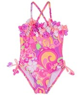 Hula Star Girls' Fantasia One Piece (4-6X)