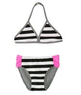 Gossip Girl Bubbly Stripe Triangle Set (7-16)