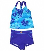 Gossip Girl Summer Hop Tankini Set (4-6X)