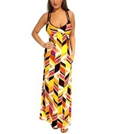 Trina Turk Carmel By The Sea Long Dress