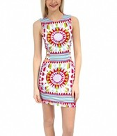 Mara Hoffman Shakti Modal Strappy Mini Dress