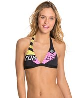 FOX Intake Fixed Halter Bikini Top