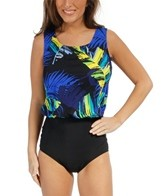 T.H.E. Traveler Palms Wear Your Own Bra Mastectomy One Piece