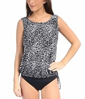 Topanga Ice Crystal Wear Your Own Bra Mastectomy Tankini Top