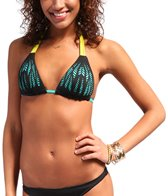 B. Swim Lumier Noir Beach Cruiser Push Up Top