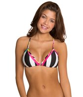 B. Swim Misfit Noir Micro Triangle Bikini Top