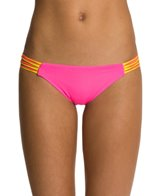 B. Swim Triple Threat Slasher Cinch Bikini Bottom