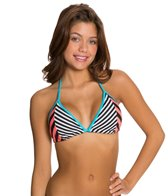 TYR Stripes Triangle Bikini Top