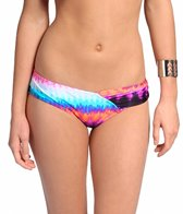 Bikini Lab Set Fire to the Rainbow Asymmetrical Hipster Bottom