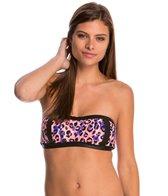 Bikini Lab SGT. Leopard Bandeau Bikini Top