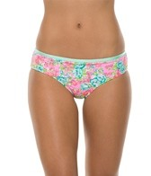 Bikini Lab Band of Roses Banded Cheeky Bottom