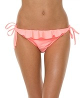 Bikini Lab I Saw The Shine Ruffle Tie Side Bottom