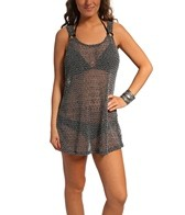 J. Valdi Crochet W/ Sequins Ring Tank